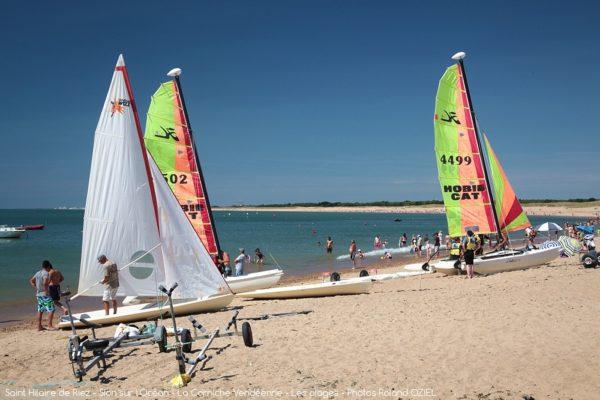 activités nautiques en Vendée