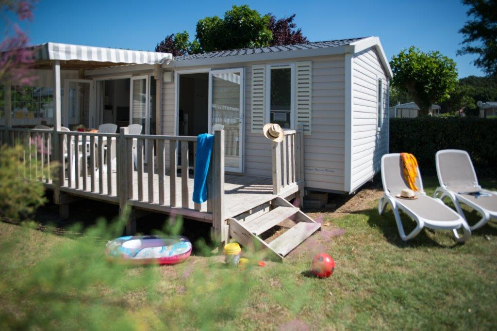 mobilhome OCEANIA camping 5* les Chouans