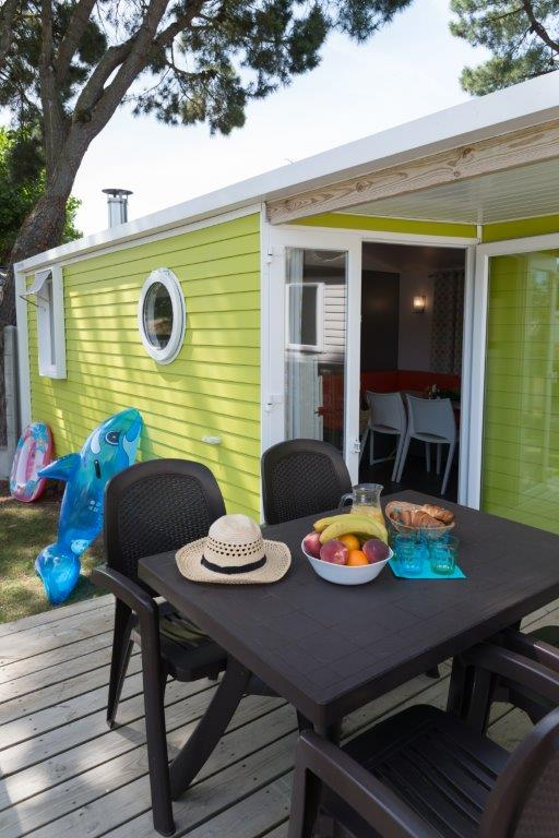 mobilhome st Barth camping 5* les Chouans 2