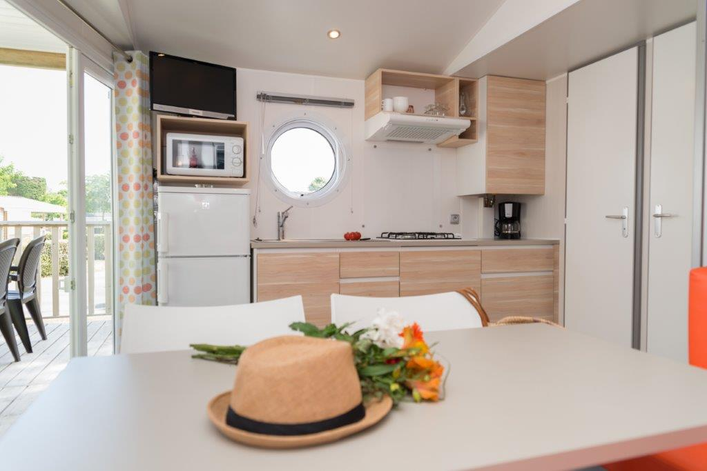 mobilhome st Barth camping 5* les Chouans 4