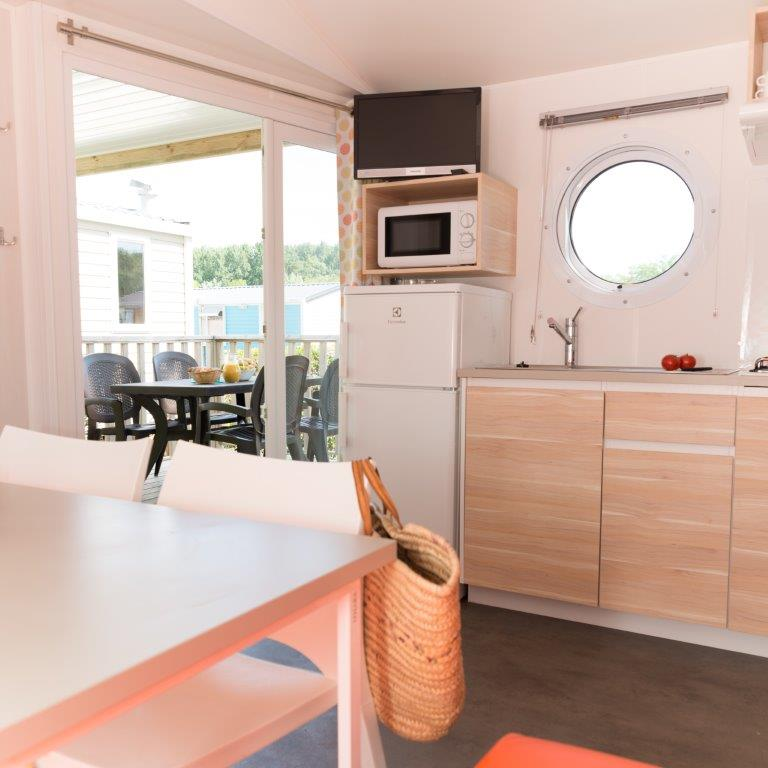 mobilhome st Barth camping 5* les Chouans 5