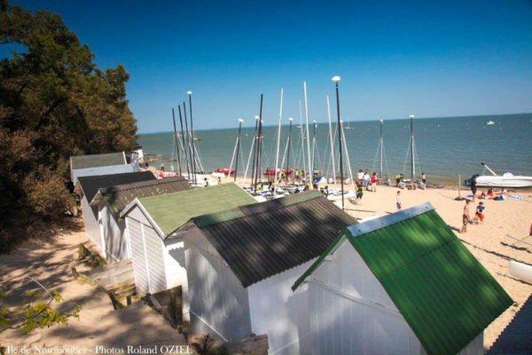 L'ile de Noirmoutier au départ du camping les Chouans