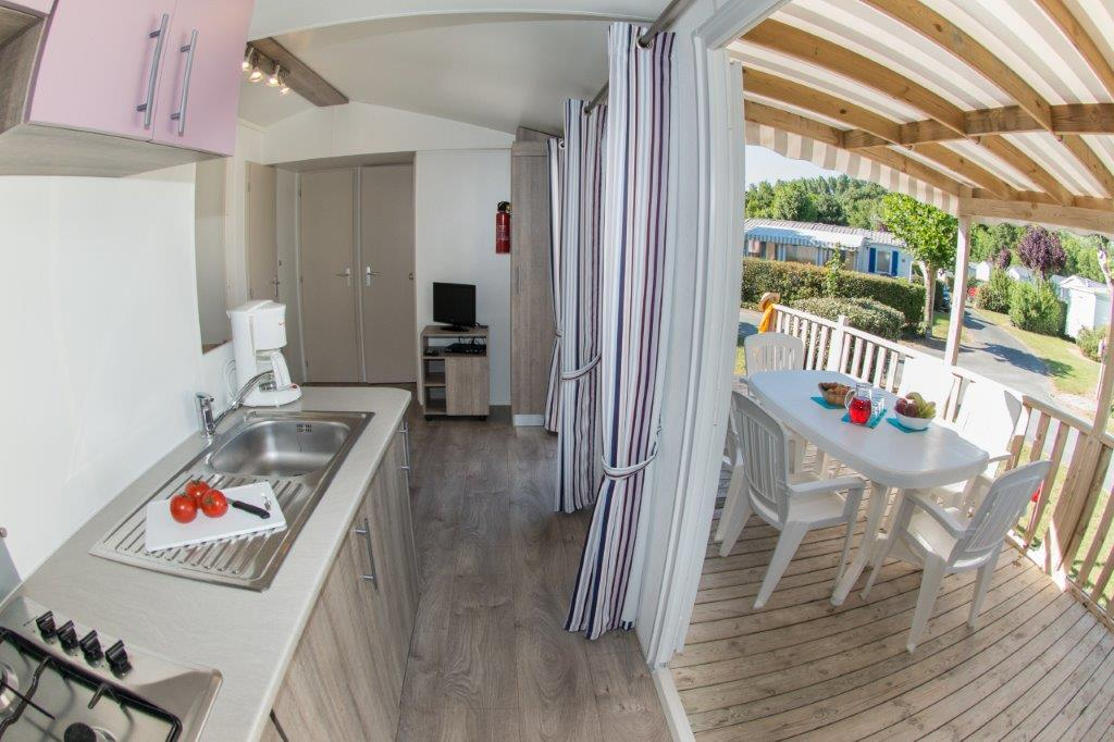 mobilhome Grand Large camping 5* les Chouans 3